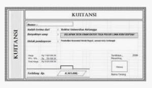 Jenis-Jenis Dokumen Transaksi